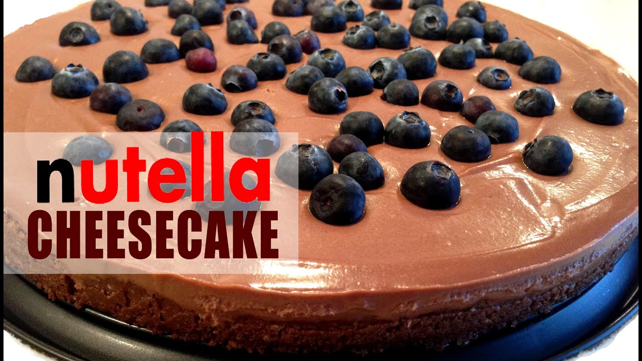 Nutella Cheesecake Recipe No Bake It S Time To Cook