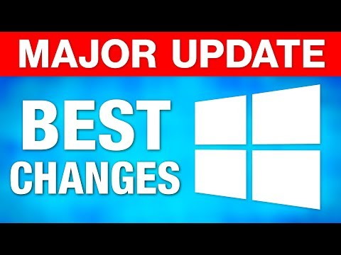 "Windows 10 Major ""April Update"" - Best New Features! (2018)"