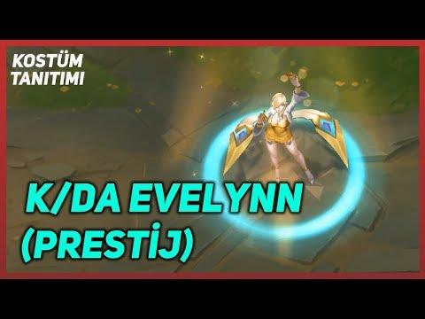 K/DA Evelynn Prestij (Kostüm Tanıtımı) League of Legends