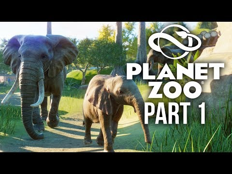 PLANET ZOO Gameplay Walkthrough Part 1 - I'M A ZOO KEEPER