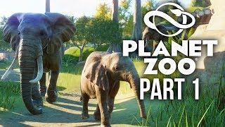 PLANET ZOO Gameplay Walkthrough Part 1 - I'M A ZOO KEEPER