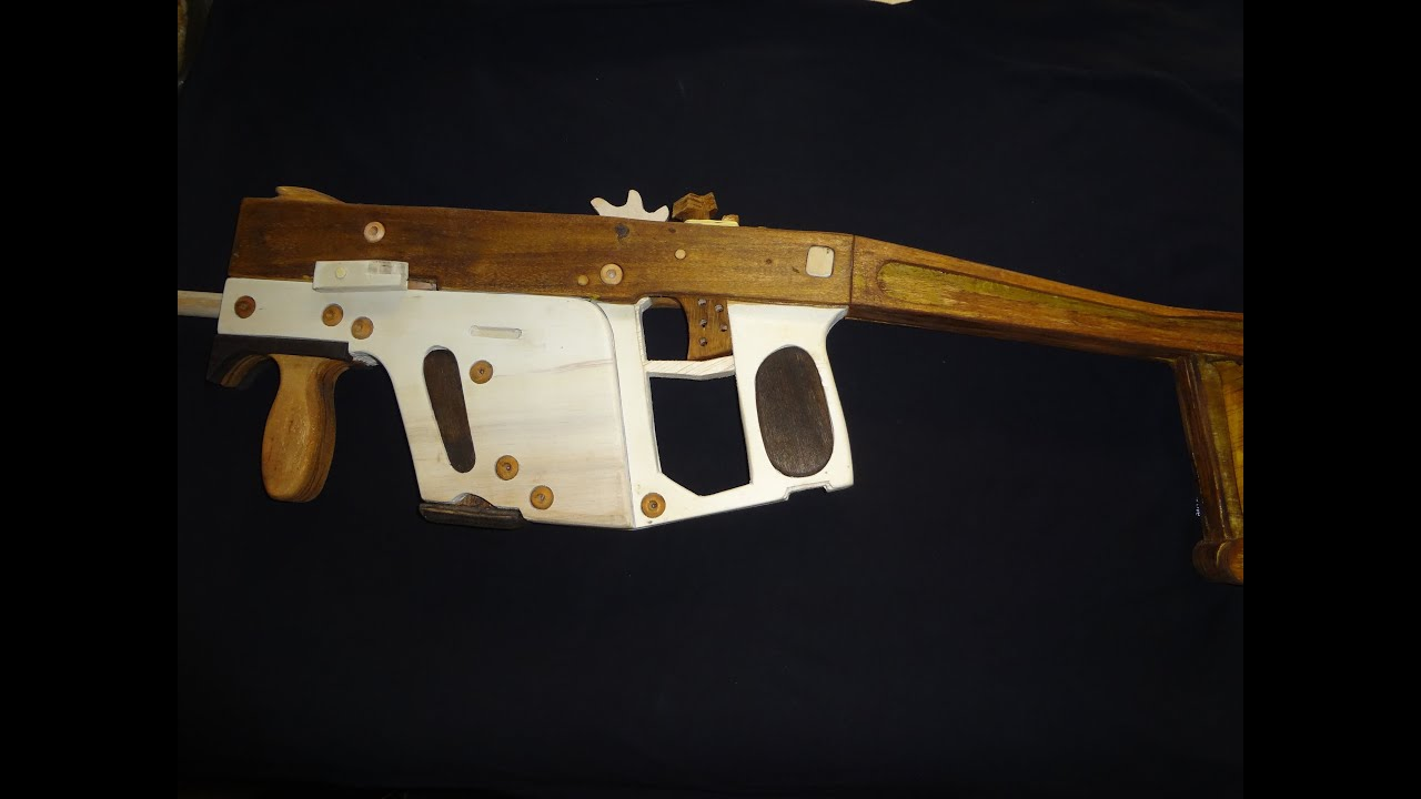 Kriss super vector de madeira rubber band gun youtube malvernweather Image collections