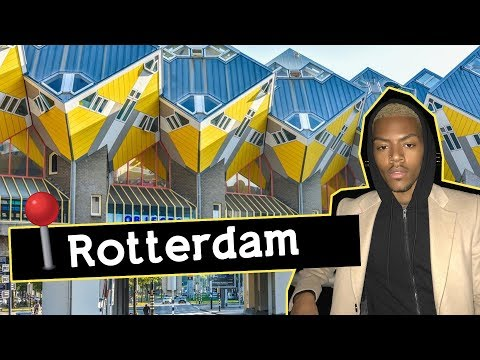 Tour of my Rotterdam Home for my first time in Netherlands  | Tarek Ali