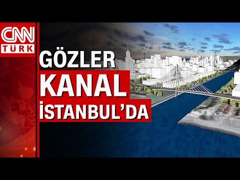 Kanal İstanbul için ilk kazma tarihi! Proje için 6 köprü planlandı