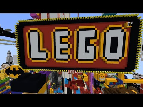 I asked my Subscribers to build Lego in Minecraft