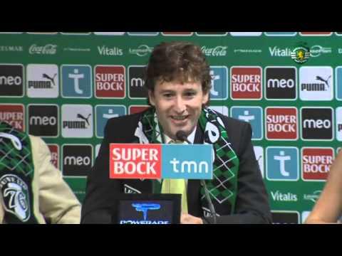 Apresentação de Domingos Paciência no Sporting em 2011/2012