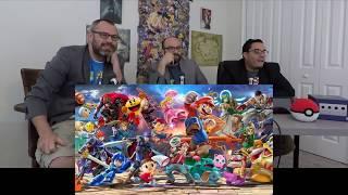 Reaction: Super Smash Bros. Ultimate Roster Reveal (E3 2018 Nintendo Direct)