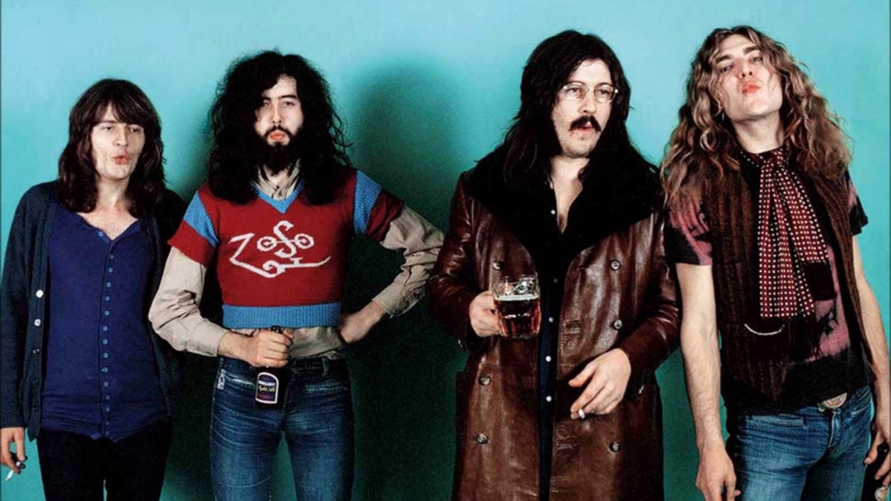 a history of the rise and fall of led zeppelin an english rock band