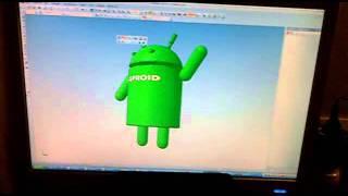 Просмотр 3D моделей на планшете с OS Android.mp4(Программа
