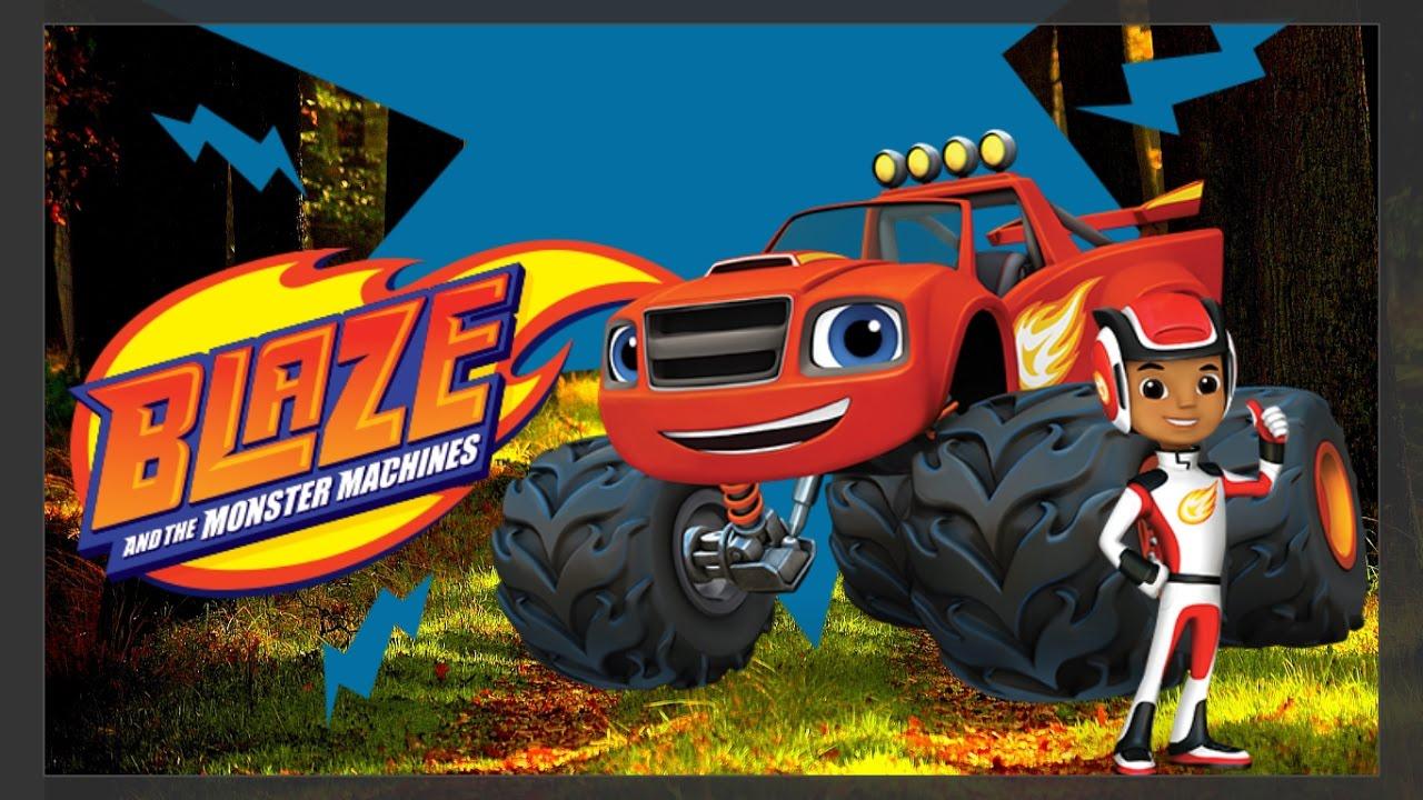 Blaze And The Monster Machines Para Colorir Super Divertido