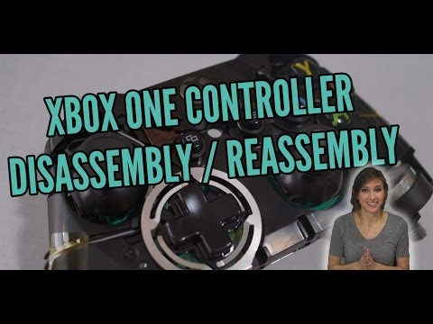 Controller Mods - Xbox One Controller Disassembly / Reassembly