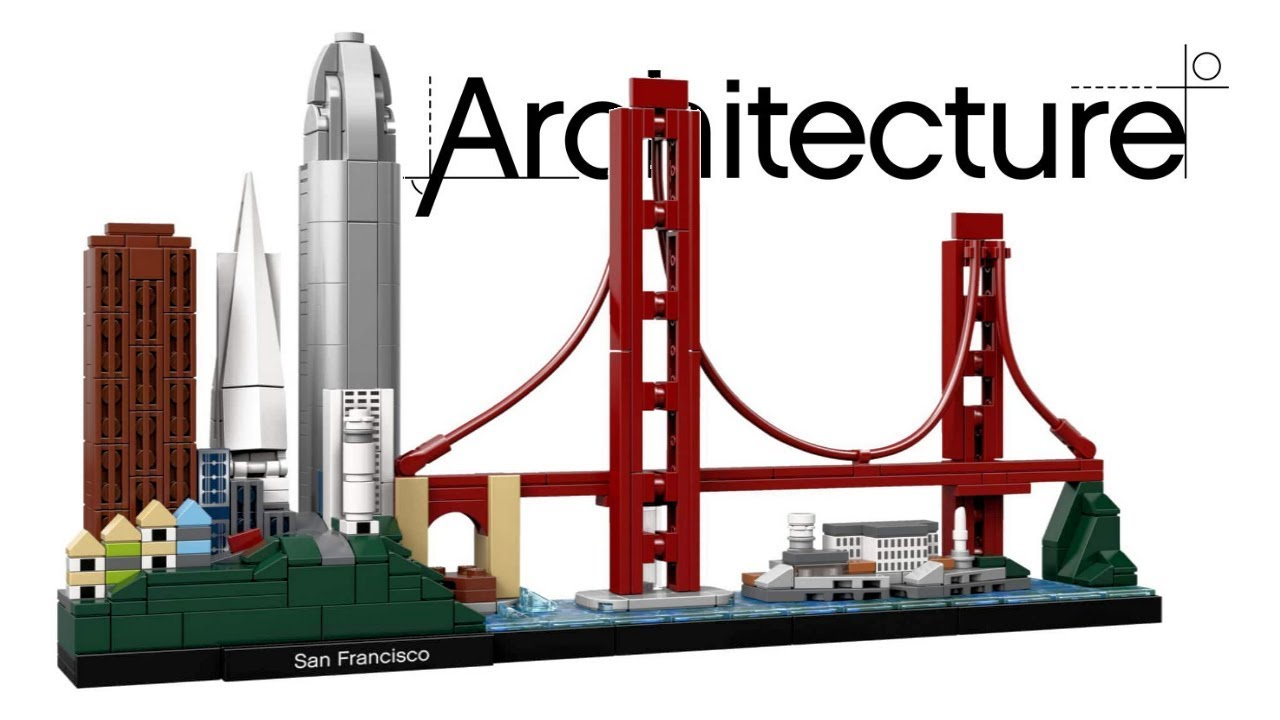 Lego Architecture San Francisco 21043 Speed Build Youtube