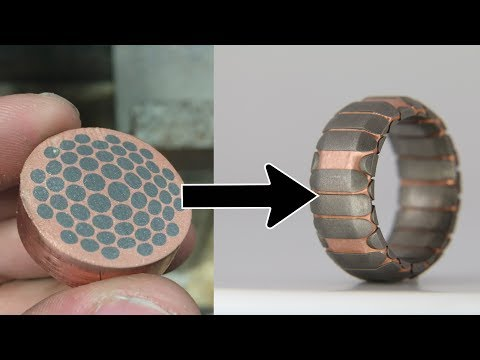 Custom Superconductor Ring with 60,000 PSI Waterjet - Patrick Adair Designs