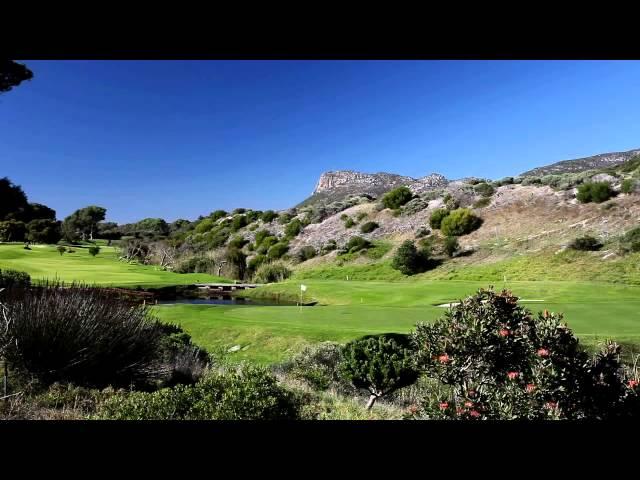 Video over de Clovelly Country Golf Club nabij Kaapstad in Zuid-Afrika