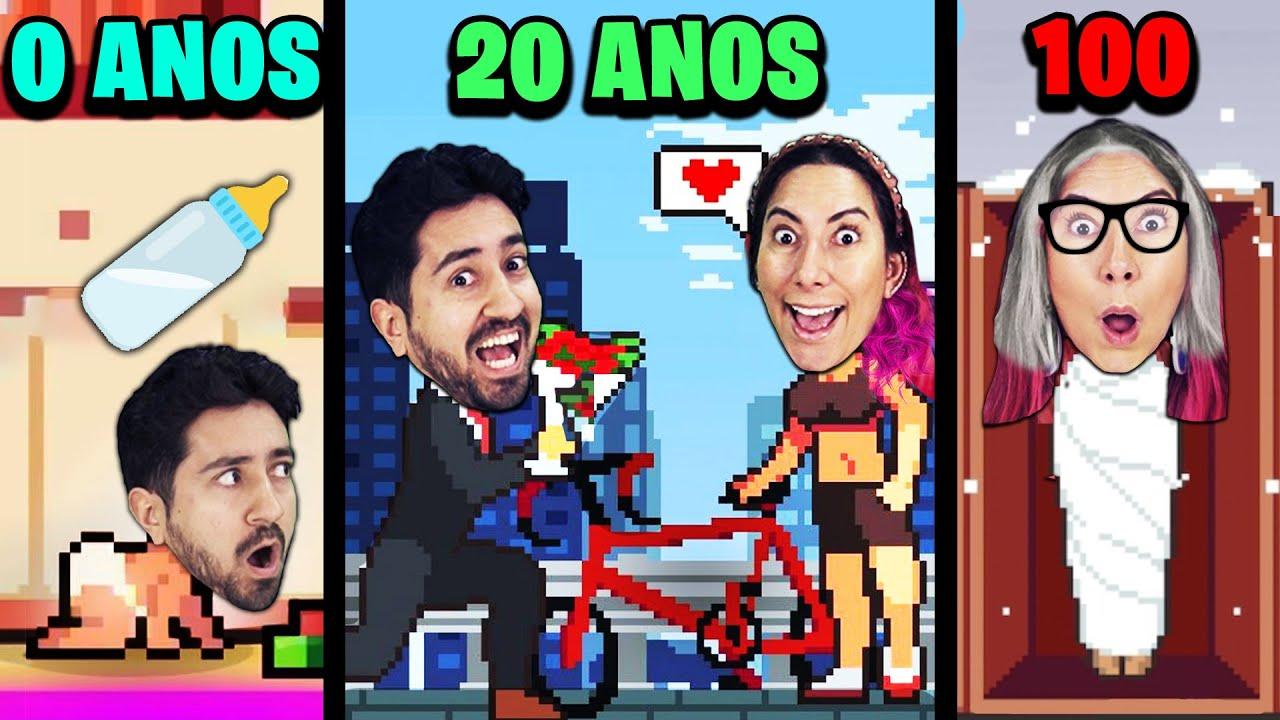 VIVENDO DE 0 A 100 ANOS NO SIMULADOR DE VIDA (Life Simulator)