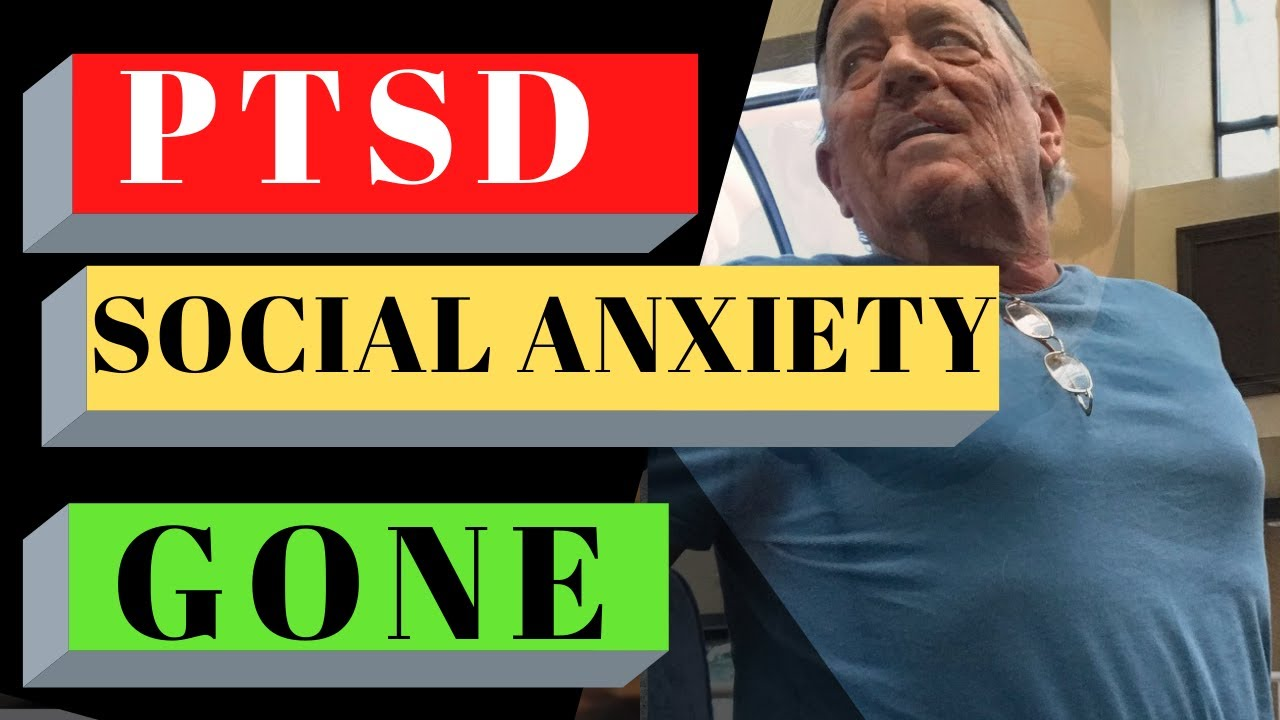 Real FEAR (PTSD and Social Anxiety disorder) GONE- Watch ...