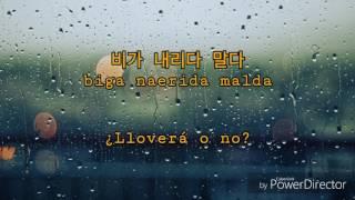 폴킴 (Paul Kim) - 비 (Rain) [sub. español]