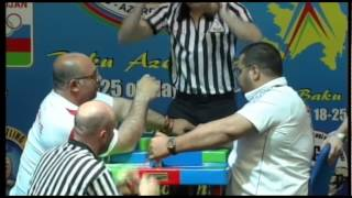 DISABLED MEN RIGHT +90KG   AYCE, SUREYYA TURKEY 3508 vs DINLEYICI, MUSTAFA TURKEY 3504