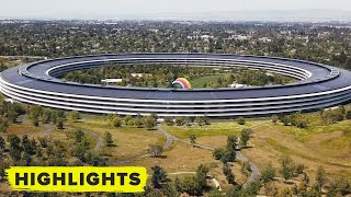 Watch this drone footage of an empty Apple Park Campus (May 2020)