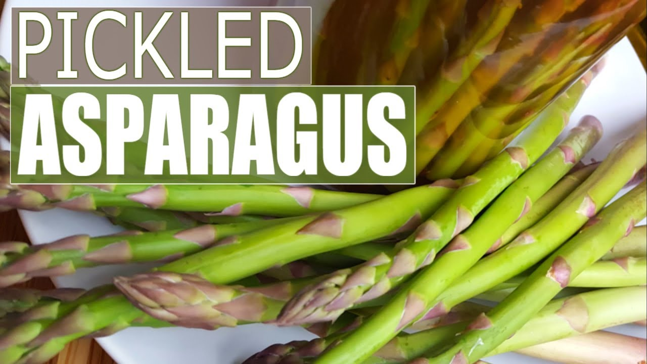 Pickled Asparagus Recipe | FAST and Delicious Spicy Pickled Asparagus