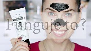 Funguje to? #1 - maska s dřevěným uhlím na černé tečky a ucpané póry