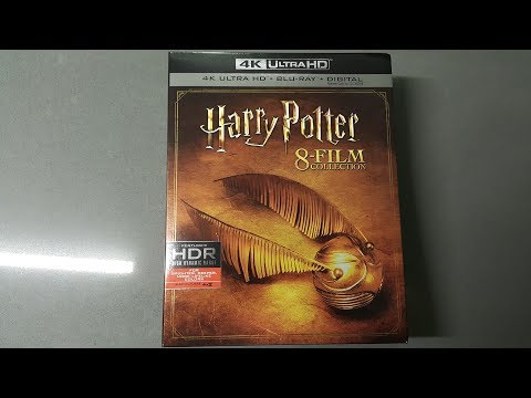 Harry Potter 8 Films 4K UHD Bluray Unboxing - YouTube