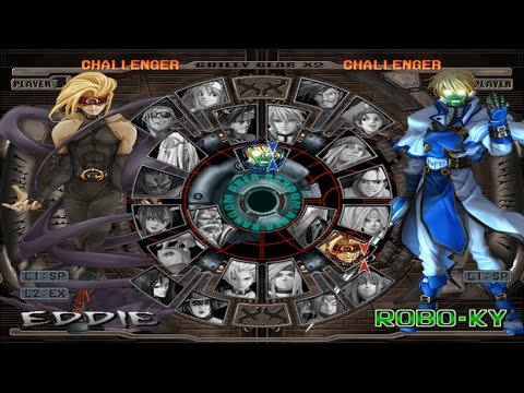 Guilty Gear X2 Opening and All Characters [PS2]