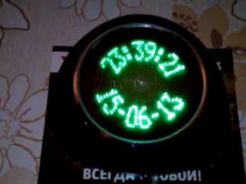 Часы пропеллер на pic16f628a своими руками