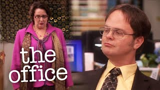 Phyllis Exposes Dwight and Angela - The Office US