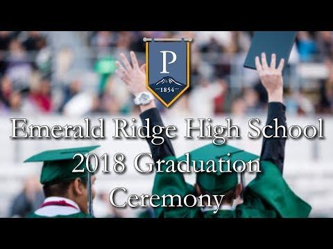 Emerald Ridge High School Graduation 2018