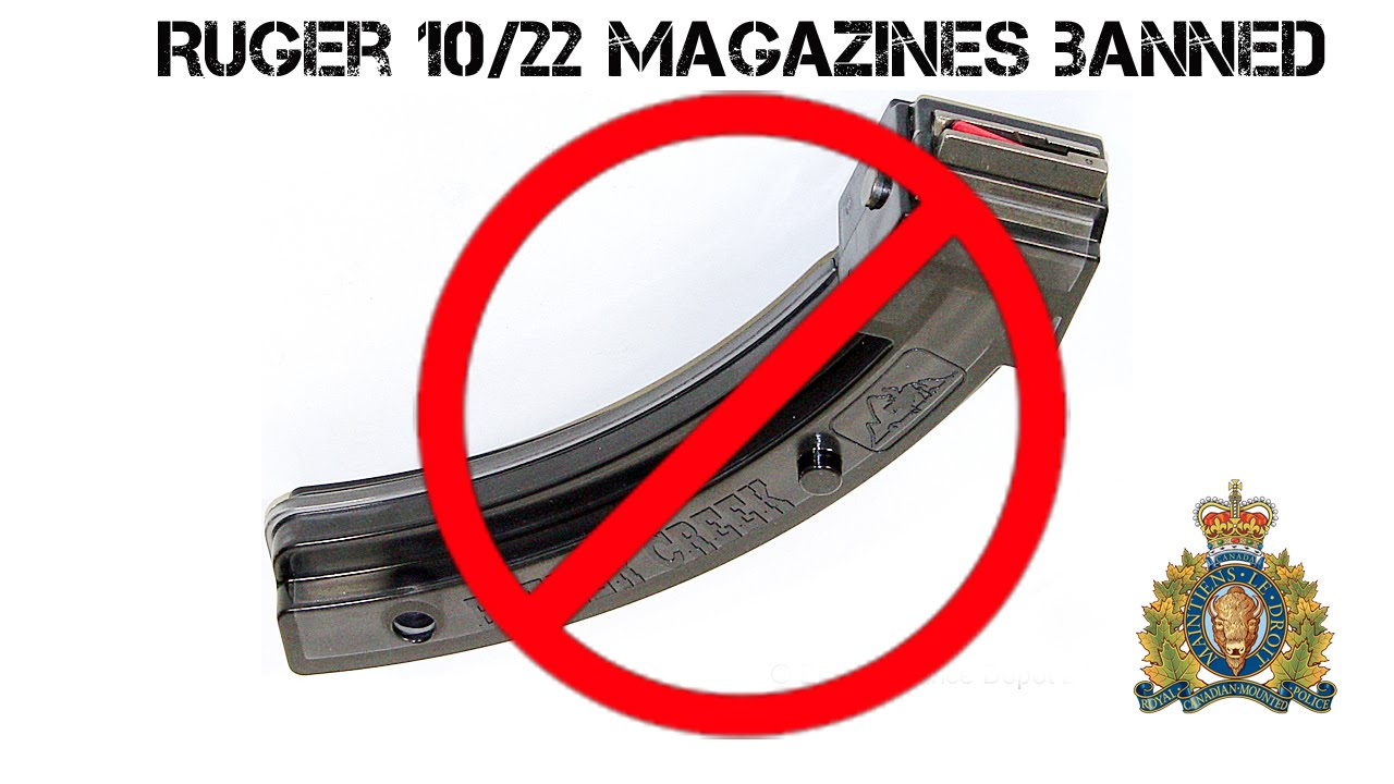 Ruger 10/22 Extended Mag Release - YouTube