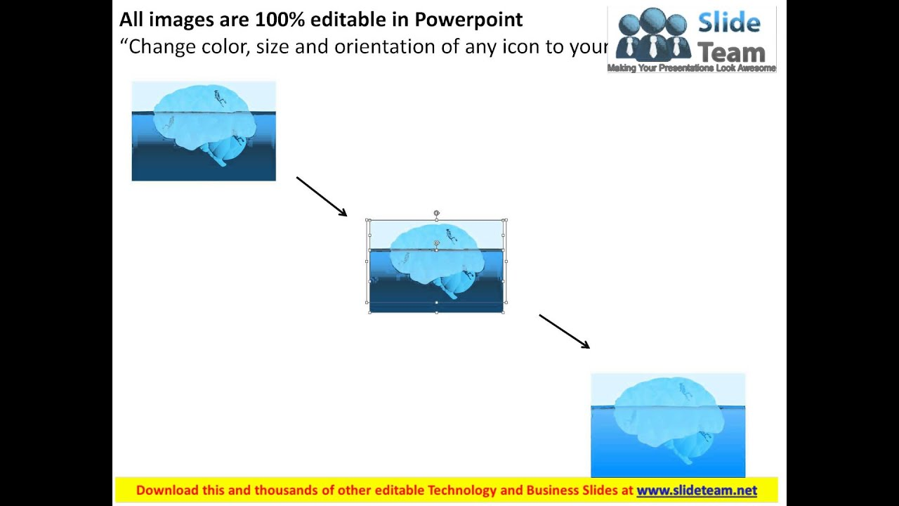 iceberg diagram for scuba diving powerpoint templates youtube