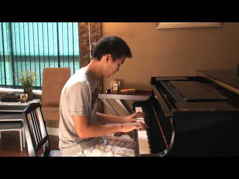 ☺ Just The Way You Are  Bruno Mars Piano Cover  Terry Chen