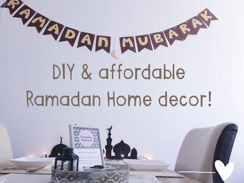 HOME DECOR Ramadan | DIY & AFFORDABLE