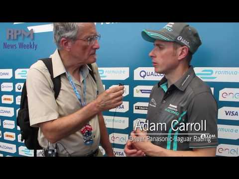 Formula ePrix NYC Adam Carroll Interview RPM News Extra!