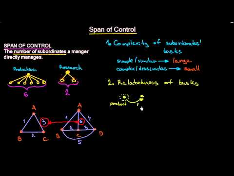 Span of Control | Organizational Design | MeanThat