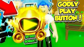 Ich habe die GODLY PLAY BUTTON und GOT 1,000,000,000,000 ABONNENTEN!! (Roblox)