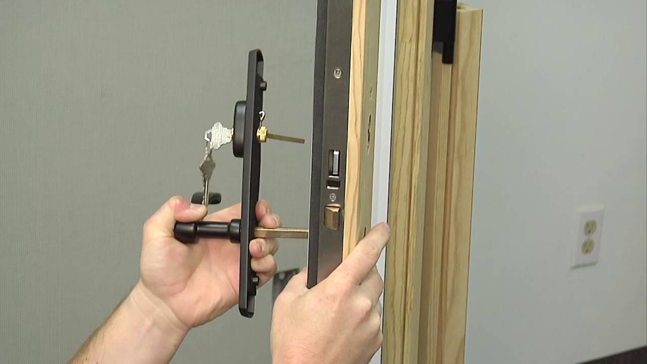 How To Replace The Single Point Handleset On A Siteline Wood Swinging Patio Door