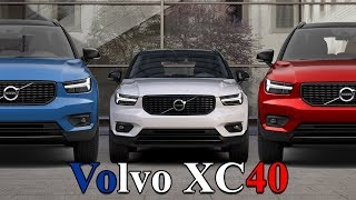 2018 Volvo XC40 Color Options