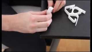 Краткий видео обзор - Держатель скатерти на столе