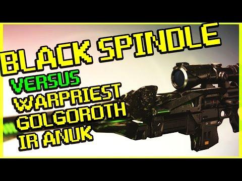 Destiny - Black Spindle Versus Warpriest, Golgoroth, and Ir Anuk - Exotic Sniper