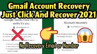 How To Recover Gmail Account without Email And Password without any verification 2021 Gmail Recovery screenshot 4