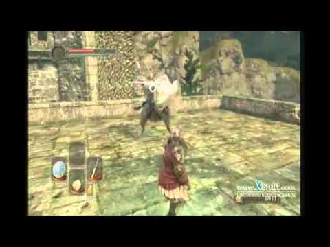 Dark Souls 2: How to kill The Pursuer (first encounter)