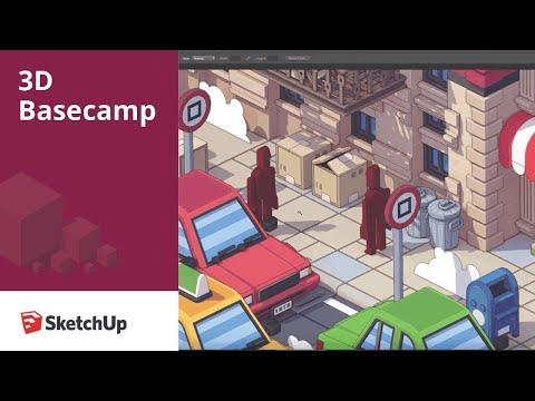 Low Poly Illustration – Rodrigo Cerci | 3D Basecamp 2018
