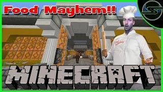 Minecraft PC - FOOD MAYHEM!! - Restaurant Rush |