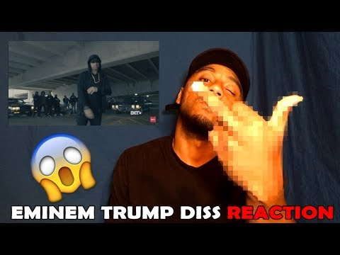 Eminem Rips Donald Trump In BET Hip Hop Awards Freestyle Cypher (REACTION)