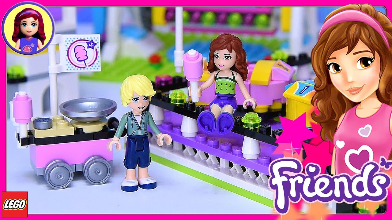 Lego Friends Amusement Park Bumper Cars Canada