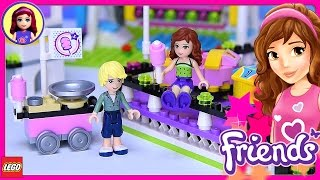 Lego Friends Amusement Park Bumper Cars Build Review Silly Play - Kids Toys