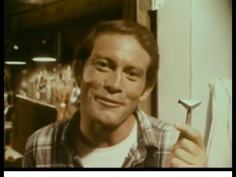 Wilkinson Razor Blades Commercial Max Gail, 1974