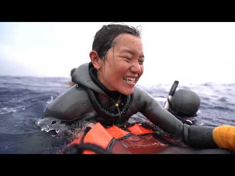 「你可以和我一起不呼吸」Taiwanese Cup 2021自由潛水深度賽紀錄片(English subtitle)